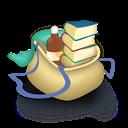 Bag, Books Icon