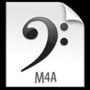 File, M4a, z Icon