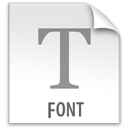 File, Font, z Icon
