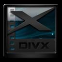 Black, Divx Icon