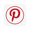 Logo, Pinterest, Square Icon