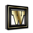 Gold, Microsoft, Word Icon