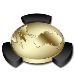 Gold, Network, Places Icon