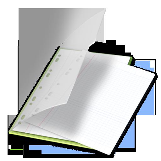 Documents, Vert Icon