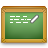 Chalkboard, Write Icon