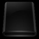 Black, Drive, Removable Icon