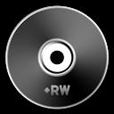 Black, Dvd+Rw Icon