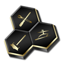 Gold, Tune, Up, Utilities Icon