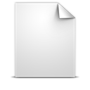 Document, Generic, White Icon