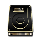 Gold, Hdd Icon