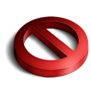 3d, Delete Icon