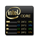Core, Temp Icon