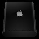 Black, Drive, External Icon