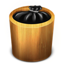 Full, Trash, Wood Icon