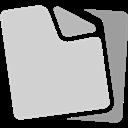 Document, Grey Icon