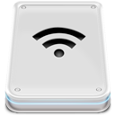 Disk, Hard, Wifi Icon