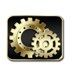Controlpanel Gold Icon Download Free Icons