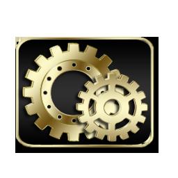 Controlpanel, Gold Icon