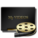 Gold, Myvideos Icon
