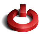 3d, Shutdown Icon