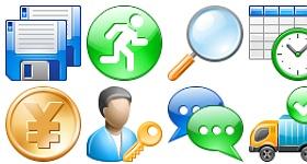 Professional Toolbar Icons