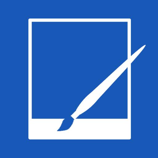 Metro, Net, Paint Icon