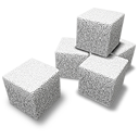 Cubes, Sugar Icon