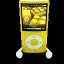 Ipod, Nano, Yellow Icon