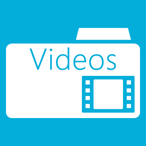 Folder, Metro, Videos Icon