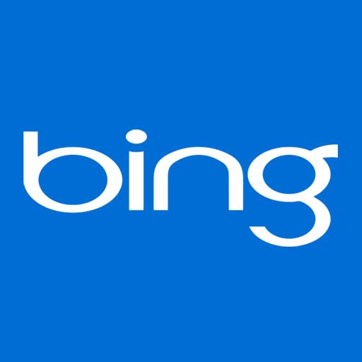 Bing, Blue, Metro Icon