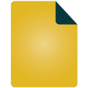 Document, Simple Icon