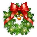 Wreath, Xmas Icon
