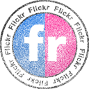 Flickr, Stamp Icon
