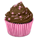 Choco, Cupcake Icon
