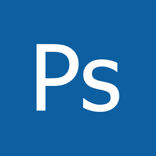 Adobe, Metro, Photoshop Icon