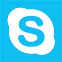 Blue, Metro, Skype Icon