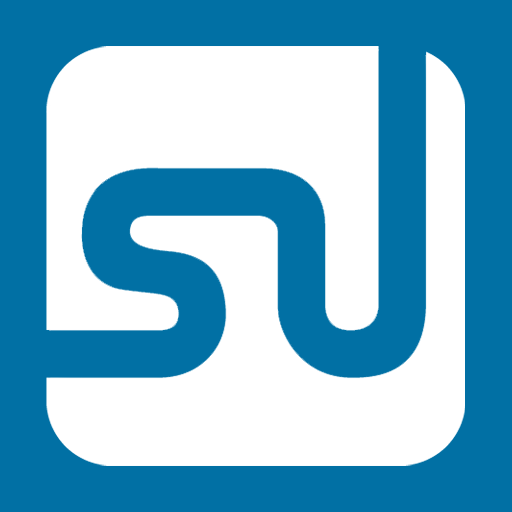Blue, Metro, Stumbleupon Icon