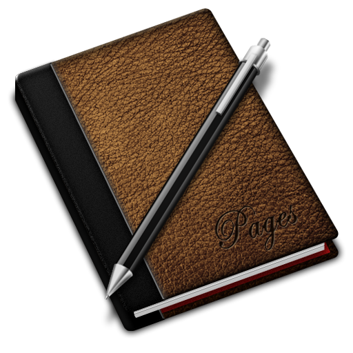 Brown, Pages Icon
