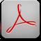 Acrobat, Iphone, Reader Icon