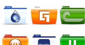 Torrent Clients And Servers Icons