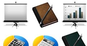 iWork 10 Icons