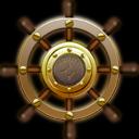 Icon, Nautilus, Ship, Steering, Wheel Icon