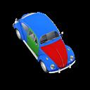 Beetle, Blue Icon