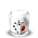 Dice, Full, Mahjong, Trash Icon