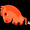 Horse, Zodiac Icon