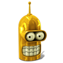 Bender, Glorious, Golden Icon