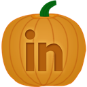 Linkedin, Pumpkin Icon