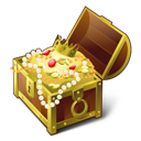 Pirate, Treasure Icon