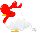 Rooster, Zodiac Icon