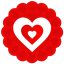 Heart, Hypnotize Icon